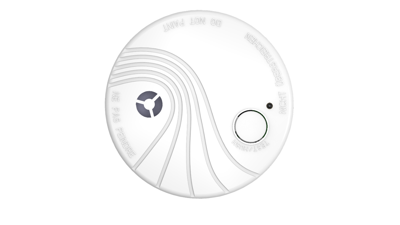 Picture of DS-PDSMK-S-WE  Wireless Photoelectric Smoke Detector Ax Pro Hikvision