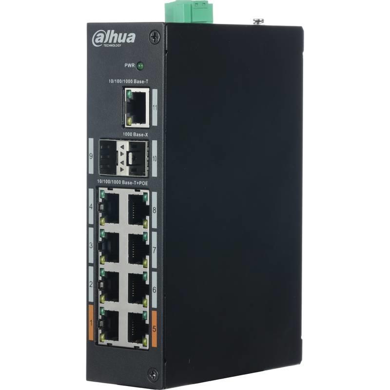 Εικόνα της PFS3211-8GT-120 11-Port Gigabit Switch with 8-Port PoE (Unmanaged) Dahua