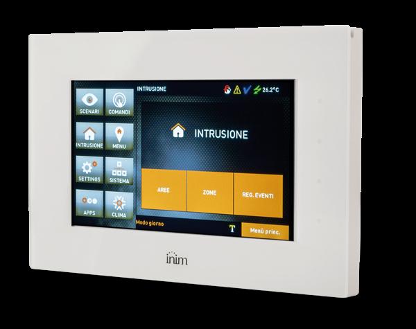 """Εικόνα της ALIEN/GB  Touch Keypad White 7"""" for Alarm Panel Inim"""
