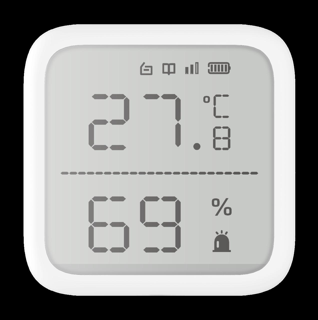 Εικόνα της DS-PDTPH-E-WE  Wireless Temperature & Humidity Detector Ax Pro Hikvision