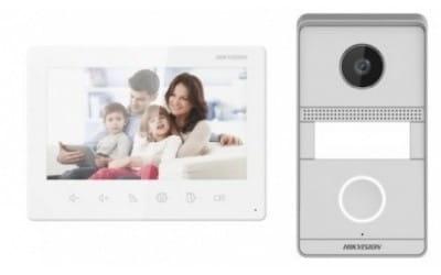 Εικόνα της DS-KIS101-P/Surface  Video Intercom Two-Wire Analog Bundle Kit Hikvision