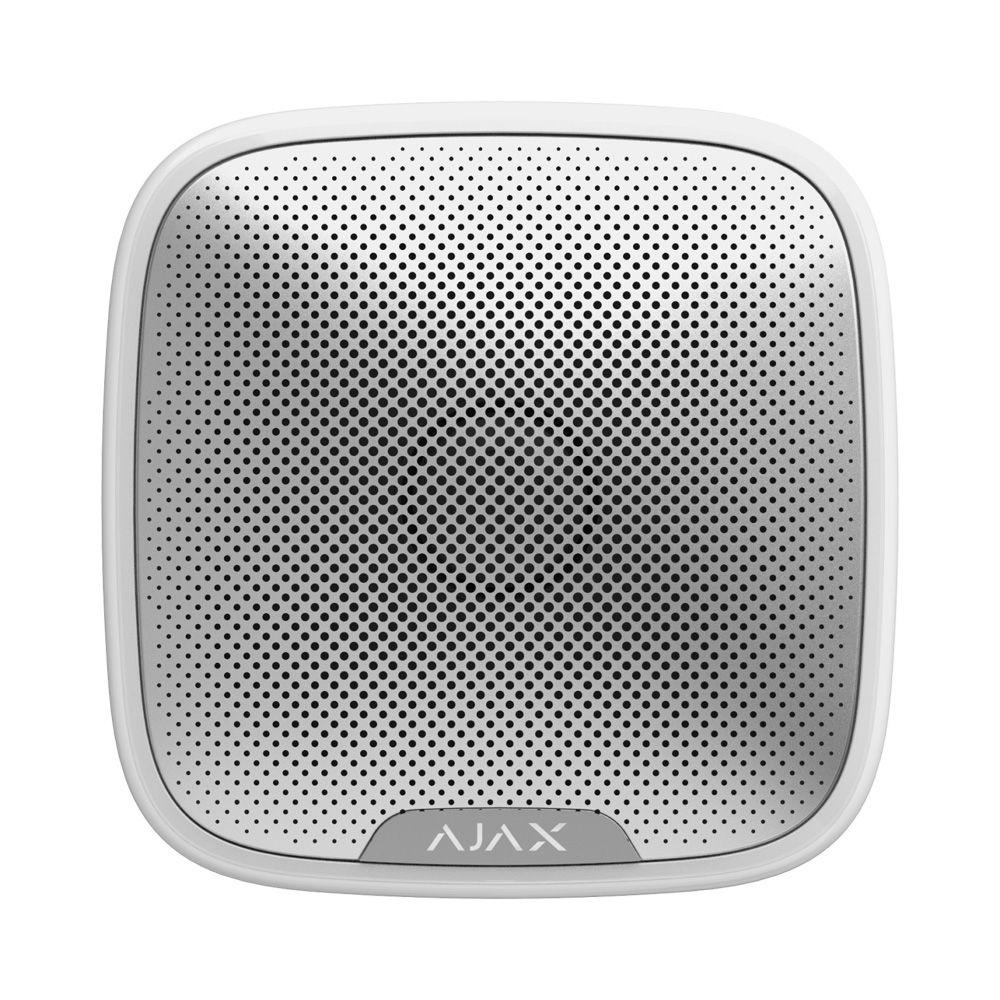 Picture of 7830.07.WH1  Street Siren White Wireless Outdoor Siren AJAX