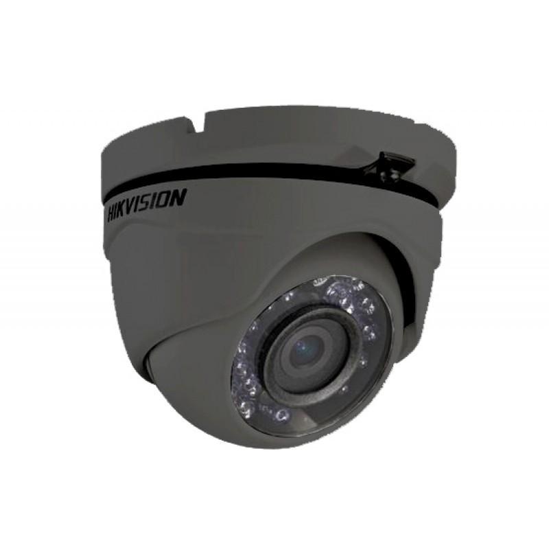 Εικόνα της DS-2CE56D0T-IRMF  2MP HD 1080p IR Turret 2.8mm Camera GRAY TVI/AHD/CVI/CVB
