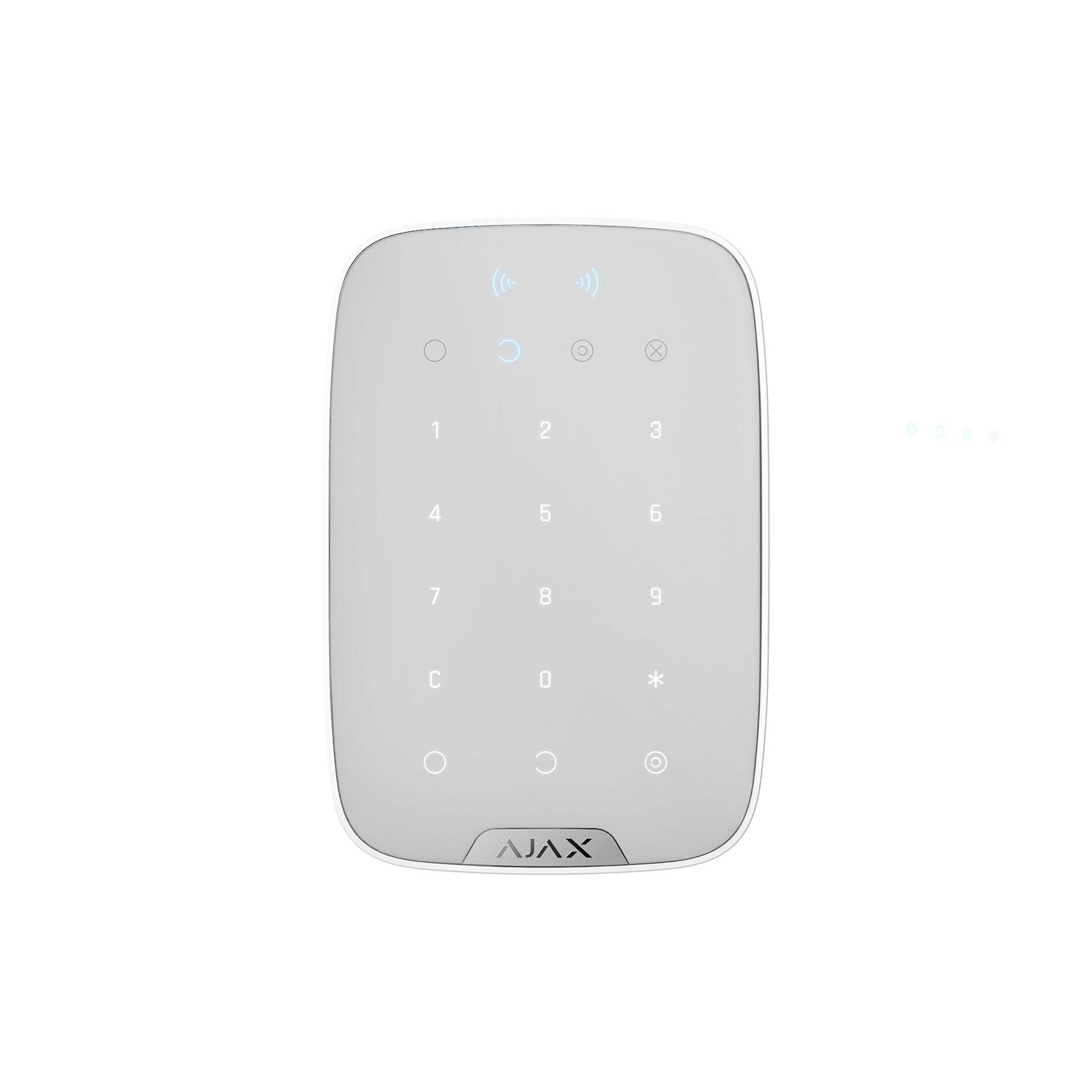 Picture of 26078.83.WH  Keypad Plus White AJAX