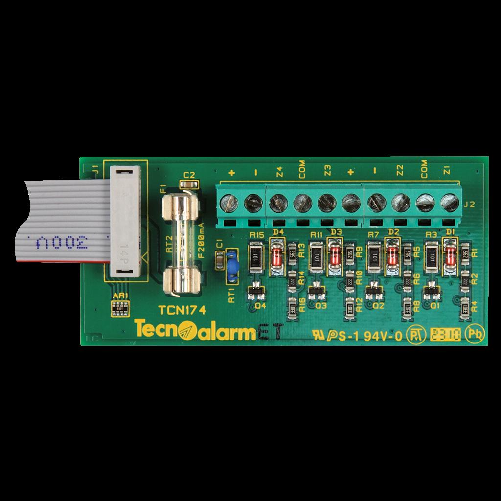 Εικόνα της ESP4-20 Expansion Module with 4 Wired Inputs Tecnoalarm