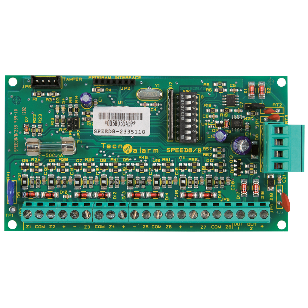 Picture of SPEED 8  EXPANSION MODULE 8 INPUTS / 2 OUTPUTS - IMQ Technoalarm