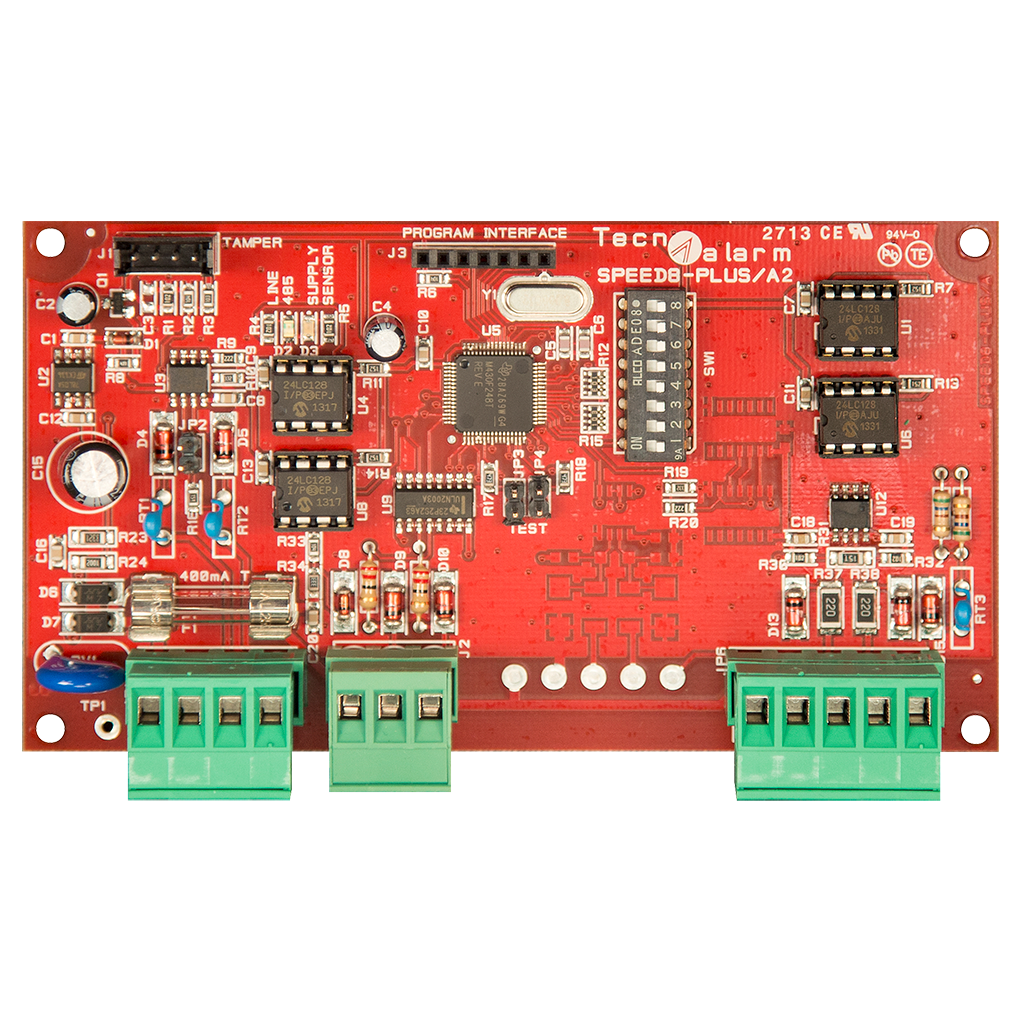Picture of SPEED 8 STD EXPANSION MODULE 8 INPUTS ON RS485 SERIAL BUS - IMQ Technoalarm