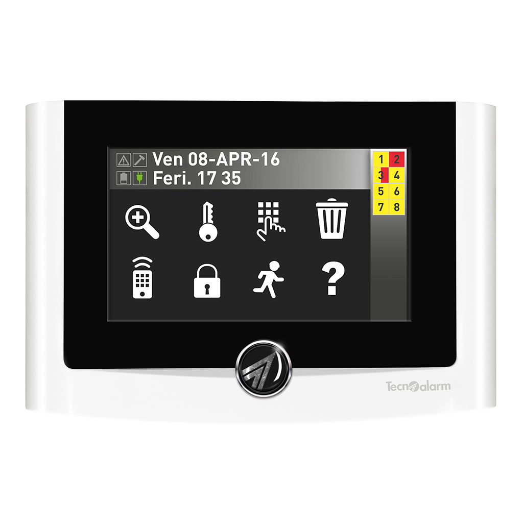 """Picture of UTS 4.3 PROX  Console with RFID Reader 4.3"""" Touch Screen Display Tecnoalarm"""