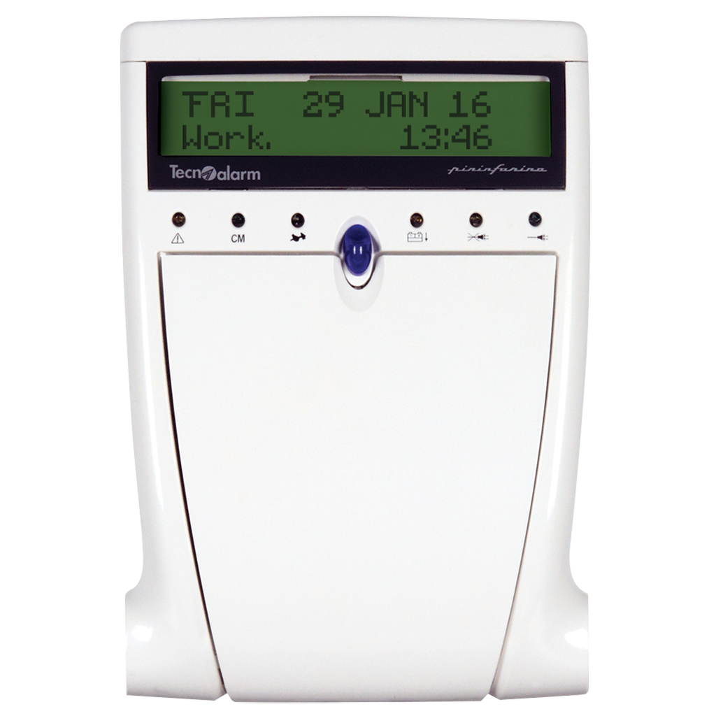 Picture of LCD300/S CONSOLE WITH LCD DISPLAY Tecnoalarm