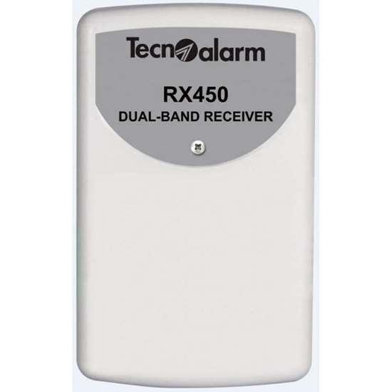 Εικόνα της RX450 Dual Band Wireless Receiver Tecnoalarm