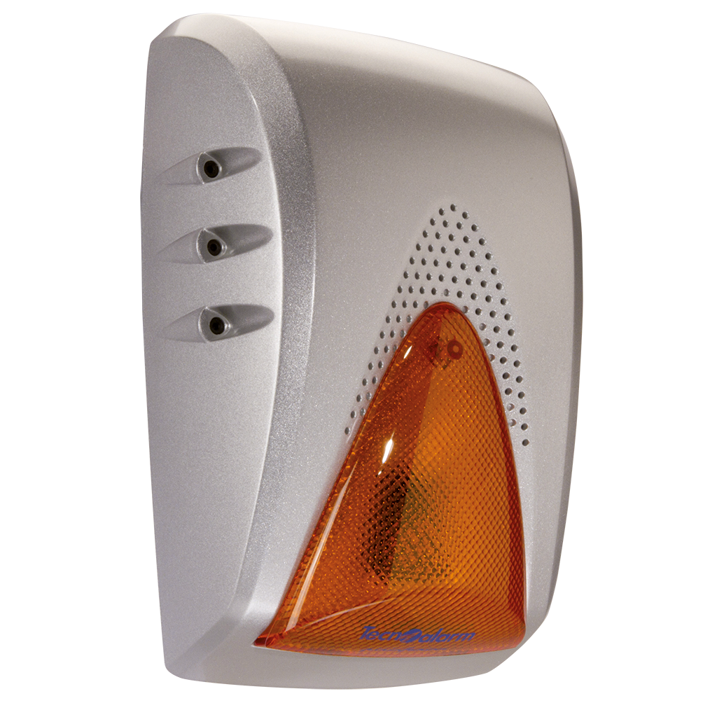 Picture of SAEL 2010 LED SELF-POWERED, TAMPER PROTECTED SIREN - FLASHING LED LIGHT - IMQ Technoalarm