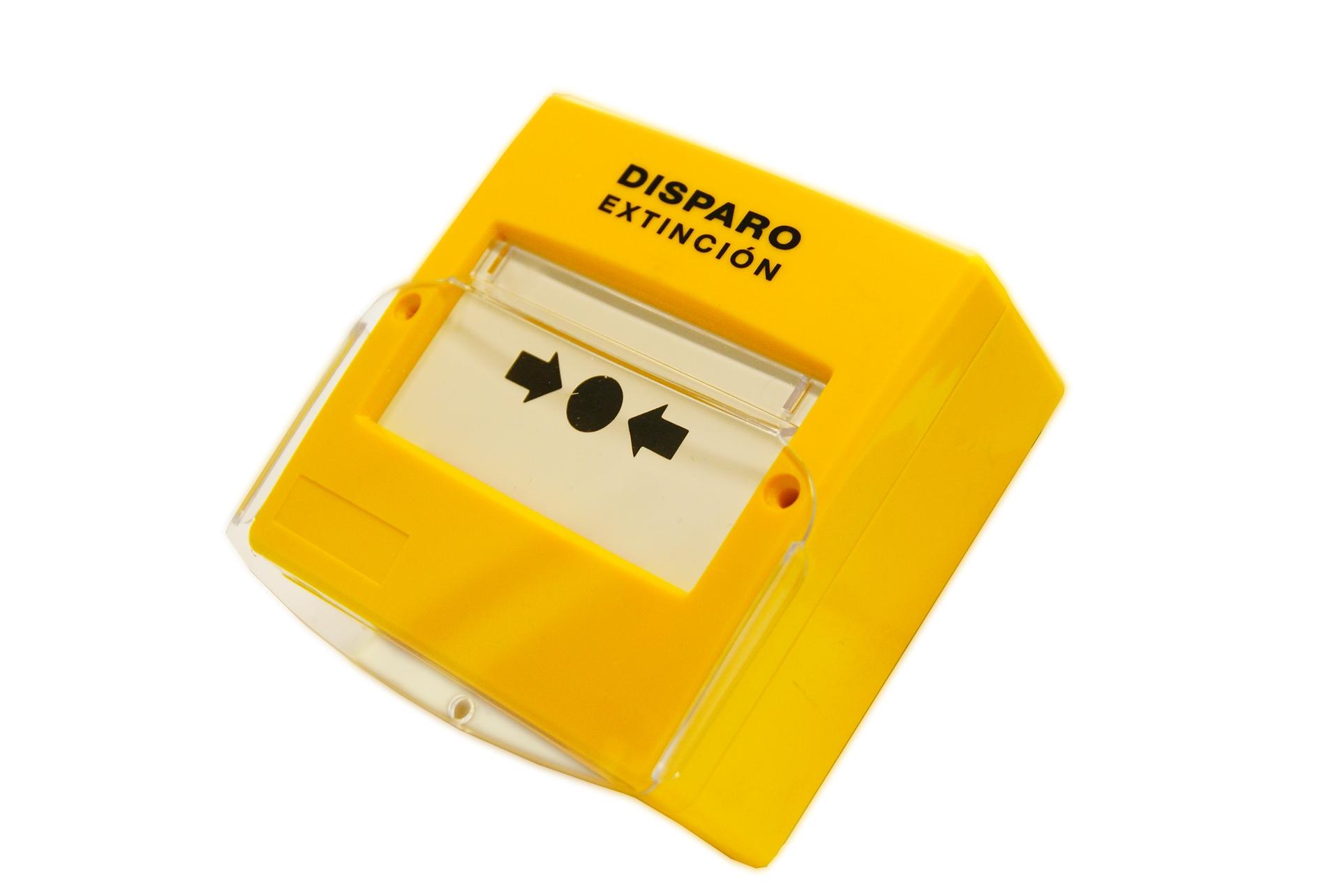 Εικόνα της PDD-100  Κομβίο Χειροκίνητης Ενεργοποίησης Κατάσβεσης Detnov